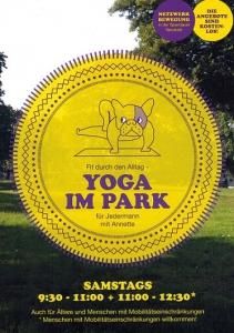 Yoga im Park @ Koeltzepark