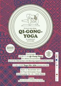 Qi-Gong-Yoga für ältere Erwachsene @ Paul-Schneider-Haus | Berlin | Berlin | Deutschland